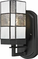 Dale Tiffany TW13019 Landis Tiffany Matte Coffee Black Wall Sconce Light