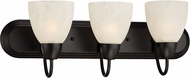 Designers Fountain 15005-3B-34 Torino Oil Rubbed Bronze 3-Light Bathroom Lighting