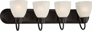 Designers Fountain 15005-4B-34 Torino Oil Rubbed Bronze 4-Light Bath Lighting