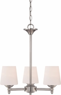 Designers Fountain 15006-3-35 Darcy Brushed Nickel Mini Ceiling Chandelier