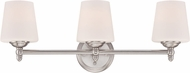 Designers Fountain 15006-3B-35 Darcy Brushed Nickel 3-Light Vanity Lighting