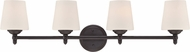 Designers Fountain 15006-4B-34 Darcy Oil Rubbed Bronze 4-Light Vanity Light