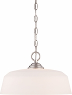 Designers Fountain 15006-DP-35 Darcy Brushed Nickel Pendant Lighting Fixture