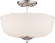 Designers Fountain 15006-SF-35 Darcy Brushed Nickel Ceiling Lighting Fixture