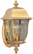 Designers Fountain 1532-PVD-PB Gladiator Polished Brass Exterior Light Sconce