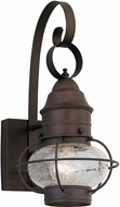 Designers Fountain 1751-RT Nantucket Nautical Rustique Outdoor Wall Sconce Lighting