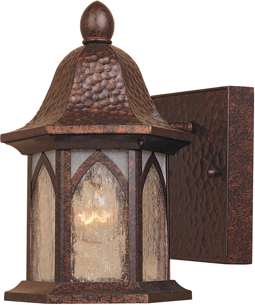 Exterior Copper Wall Sconces : Designers Fountain 20601-BAC Berkshire Traditional Burnished Antique Copper Exterior Lighting ...