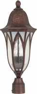 Designers Fountain 20626-BAC Berkshire Traditional Burnished Antique Copper Exterior Post Light Fixture