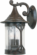 Designers Fountain 20921-CHN Canyon Lake Traditional Chestnut Exterior Wall Light Sconce