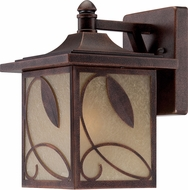 Designers Fountain 22231-FC Devonwood Flemish Copper Exterior Wall Lamp