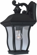 Designers Fountain 2701-BK Chelsea Traditional Black Outdoor Light Sconce