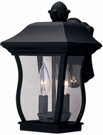 Designers Fountain 2712-BK Chelsea Traditional Black Exterior Lighting Sconce