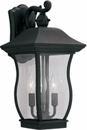Designers Fountain 2722-BK Chelsea Traditional Black Outdoor Lamp Sconce