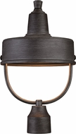 Designers Fountain 33146-WP Portland-DS Weathered Pewter Exterior Lamp Post Light Fixture