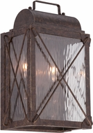 Designers Fountain 33331-EB Colfax Traditional Etruscan Bronze Outdoor Lighting Wall Sconce