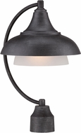 Designers Fountain 33546-WP Palmer Weathered Pewter Exterior Pole Lighting Fixture