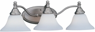 Designers Fountain 4773-PW Savon Pewter 3-Light Vanity Light Fixture