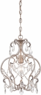 Designers Fountain 6203-ARS Calla Traditional Argent Silver Foyer Lighting