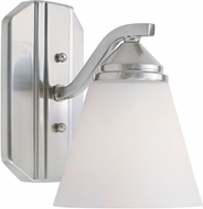Designers Fountain 6601-SP Piazza Satin Platinum Lighting Sconce