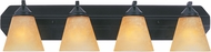Designers Fountain 6604-ORB Piazza Oil Rubbed Bronze 4-Light Bath Lighting Fixture