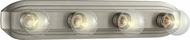 Designers Fountain 6614-BN Value Brushed Nickel 4-Light Bathroom Vanity Light