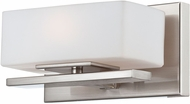 Designers Fountain 6711-SP Meridian Modern Satin Platinum Halogen Wall Light Sconce