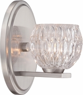 Designers Fountain 67901-SP Odessa Satin Platinum Halogen Sconce Lighting