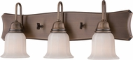 Designers Fountain 68003-OSB Astor Old Satin Brass 3-Light Bath Lighting Sconce