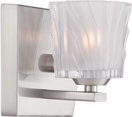 Designers Fountain 68101-SP Volare Satin Platinum Halogen Lighting Sconce