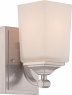 Designers Fountain 68601-SP Corbin Satin Platinum Wall Sconce Lighting