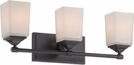 Designers Fountain 68603-OEB Corbin Old English Bronze 3-Light Bath Lighting
