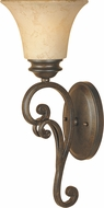 Designers Fountain 81801-FSN Mendocino Forged Sienna Lighting Wall Sconce