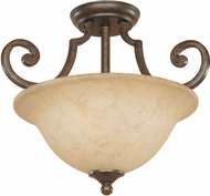 Designers Fountain 81811-FSN Mendocino Forged Sienna Home Ceiling Lighting