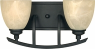 Designers Fountain 82902-BNB Tackwood Burnished Bronze 2-Light Bathroom Sconce
