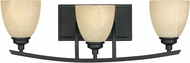 Designers Fountain 82903-BNB Tackwood Burnished Bronze 3-Light Vanity Light Fixture