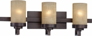 Designers Fountain 83603-TU Castello Tuscana 3-Light Bathroom Lighting Sconce
