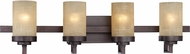 Designers Fountain 83604-TU Castello Tuscana 4-Light Bathroom Sconce Lighting