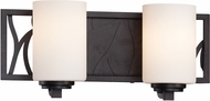 Designers Fountain 83702-ART Modesto Artisan 2-Light Bath Lighting Sconce