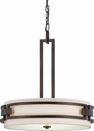 Designers Fountain 83831-FBZ Del Ray Flemish Bronze Hanging Pendant Light