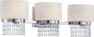 Designers Fountain 83903-CH Candence Chrome 3-Light Bathroom Light