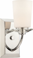 Designers Fountain 84201-CH Palatial Modern Chrome Light Sconce
