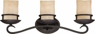 Designers Fountain 84703-NI Lauderhill Natural Iron 3-Light Vanity Lighting Fixture