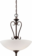 Designers Fountain 84831-BU Helena Burnt Umber Pendant Light Fixture