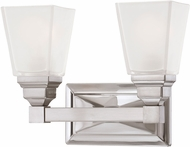 Designers Fountain 84902-SN Trenton Satin Nickel 2-Light Bathroom Light Sconce
