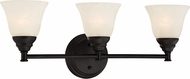 Designers Fountain 85103-ORB Kendall Oil Rubbed Bronze 3-Light Bathroom Wall Light Fixture