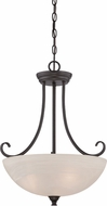 Designers Fountain 85131-ORB Kendall Oil Rubbed Bronze Pendant Hanging Light