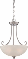 Designers Fountain 85131-SP Kendall Satin Platinum Hanging Light Fixture