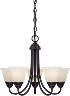 Designers Fountain 85185-ORB Kendall Oil Rubbed Bronze Mini Ceiling Chandelier