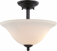 Designers Fountain 85211-ORB Addison Oil Rubbed Bronze Ceiling Light Fixture