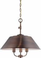 Designers Fountain 85431-OSB Newbury Station Old Satin Brass Lighting Pendant